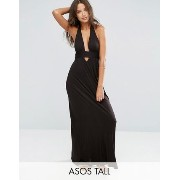 水着 ASOS TALL Jersey Halter Maxi Beach Dress ASOS(エイソス) バイマ BUYMA