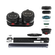 Ztylus Z-PRIME Lens Kit for iPhone 6s Plus / 6 Plus: Super Wide Angle Lens, 2X Telephoto Lens and...
