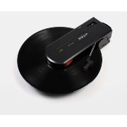 [OPEN BOX SALE]Portable LP Record Player Turntable Builtin Speaker USB or Battery Aria Pan [並行輸入品]