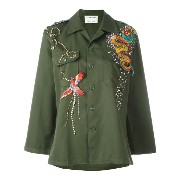 Night Market dragon embroidered jacket