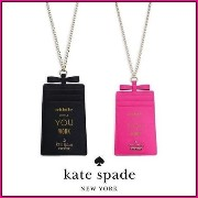 ★kate spade Whistle While You Work Leather ID Case★送料込 kate spade new york(ケイトスペード) バイマ BUYMA