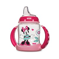 NUK Disney Learner Cup with Silicone Spout, Minnie Mouse, 5-Ounce by NUK [並行輸入品]