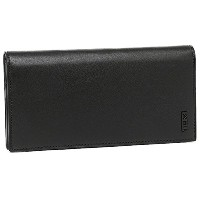 (トゥミ) TUMI トゥミ 財布 TUMI 18643 D DELTA SLG BREAST POCKET WALLET 長財布 BLACK [並行輸入品]