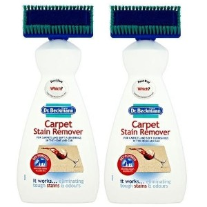 2 x Dr Beckmann Carpet Cleaner Brush 650ml, Cleaning, Upholstery, Stain Remover by Dr Beckmann