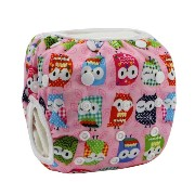 Tangda Baby Infant Adjustable 3 Size Reusable Swimming Nappy Diaper Pants Washable Nappies Owl by...