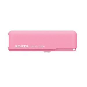 ADATA Technology DashDrive UV110 USBフラッシュドライブ 32GB Pink