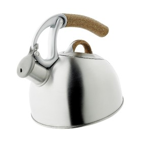 OXO Good Grips Anniversary Edition Uplift Tea Kettle, Polished Stainless Steel ケトル 1900ml