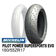 【ミシュラン】 PILOT POWER SUPERSPORTS EVO 180/55ZR17 【パイロットパワー】 【SUPER SPORTS】 【EVO】 MICHELIN