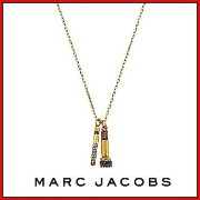 SALE★MARC JACOBS Lip Necklace Crystal/Antique Gold★送料込 MARC JACOBS(マークジェイコブス) バイマ BUYMA