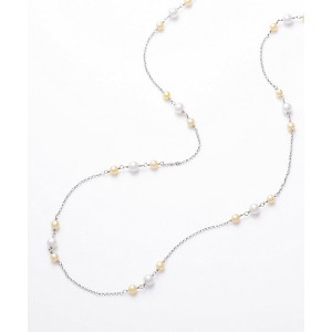 【SALE(伊勢丹)】 K18WGアコヤパールロングネックレス アクセサリー~~ネックレス・ペンダント~~その他