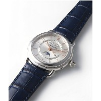 <AEROWATCH(アエロウォッチ)> AEROWATCH 1942 TRIPLE CALENDAR MOONーPHASES Ref75970AA02 腕時計~~メンズ 腕時計