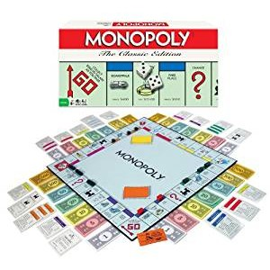 Monopoly Classic Edition Game 新品