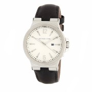 MICHAEL Michael Kors★Crystal Accented Leather Strap Watch Michael Kors(マイケルコース) バイマ BUYMA