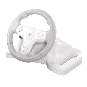 Logitech Wii Speed Force Wireless Wheel (輸入版)
