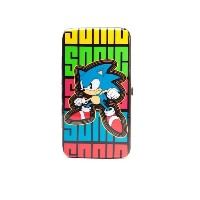 Sega Purse Sonic the Hedgehog 公式 新しい hinge