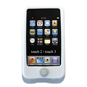Msfort iPod Touch 2/3 【第2世代/第3世代】シリコンケース iPod Touch 2/3 Silicone Case (ホワイト)