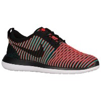 (取寄)ナイキ メンズ ローシ 2 フライニット Nike Men's Roshe Two Flyknit Black Bright Crimson Clear Jade Black