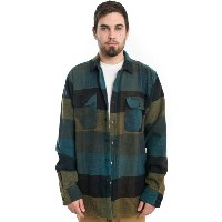 OBEY チェックシャツ ジャケット オベイ Wallace L/S Button-Up Shirt Blue Multi スケボー SKATE SK8 スケートボード HARD CORE PUNK...