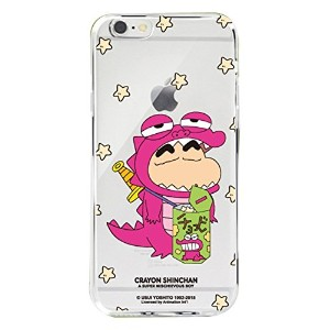 【 iPhone 6 / 6S ケース カバー 】 【★フィルム付き/日本国内発送】 iPhone6 iPhone6S クレヨンしんちゃん クリア ケース 【Crayonshinchan Clear...