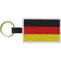 BRUSHUP STANDARD キーホルダー FLAG KEY HOLDER DEU BUS054 [正規代理店品]