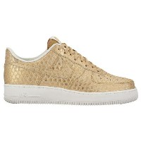 (取寄)NIKE ナイキ メンズ エアフォース 1 LV8 スニーカー Nike Men's Air Force 1 LV8 Metallic Gold Summit White Metallic...