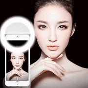 DOLAIMI Ring Selfie Fill-Light,36 Build-in LEDs Portable Mini Pocket Spotlight, Enhancing Smartphone...
