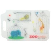 Shinzi Katoh Design 抗菌カッティングボード Go to the zoo CB3029