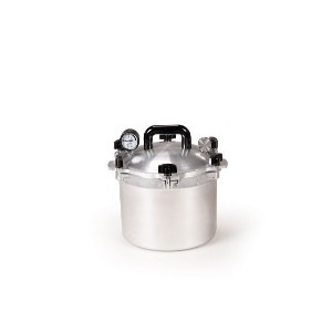 All-American 10-1/2-Quart Pressure Cooker/Canner by All American