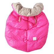 7A.M. ENFANT Cygnet Cover Neon Pink/Beige ベビーキャリー&ベビーカーカバー SIZE(0-4T)