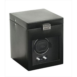 Wolf Designs ウルフデザイン ウォッチワインダー 270302 Heritage Collection 2.1 Single Watch Winder with Cover and...