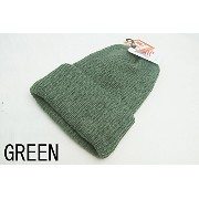 BRONER( ブローナー) / Value Knit Cuff Watch Cap (GREEN)