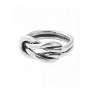 ON THE SUNNYSIDE OF THE STREET Sailor Knot Ring Silver【エディフィス/EDIFICE リング】