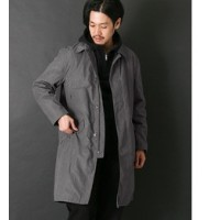 DOORS Mt Design 3776 Padding Mountain Coat【アーバンリサーチ/URBAN RESEARCH ノーカラーコート】