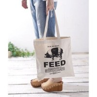 M.N.DAVIS&SON/ Piggy Feed Sack CANVAS TOTE BAG【ナノ・ユニバース/nano・universe トートバッグ】