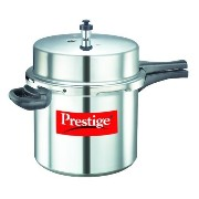 Prestige Popular Aluminium Pressure Cooker, 12 Liters by A&J Distributors, Inc. [並行輸入品]