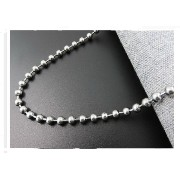 Ball Chain Bead Chains Stainless Steel Necklace fashion Jewelry(Unisex)