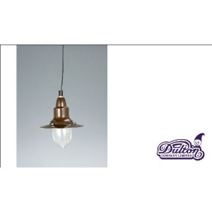 [DULTON]ダルトン PENDANT LAMP W/GLASS BROWN