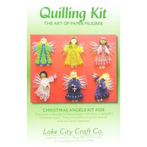 Quilled Creations クイリングキット Christmas Angels