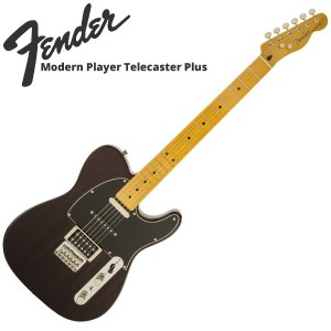 Fender Modern Player Telecaster Plus Charcoal Transparent エレキギター
