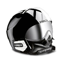 KASK〔カスク スキーヘルメット〕<2017>STEALTH〔BLACK/WHITE〕【送料無料】〔z〕