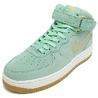 NIKE ナイキ WMNS AIR FORCE 1 07 MID SEASONAL ウィメンズエアフォース107ミッドシーズナル enamel green/metallic gold star...