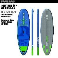 "SUP インフレータブル SUP 10'x35"" ワッパー ゼン スターボード 2017 STARBOARD INFLATABLE SUP WHOPPER ZEN 2017 サップ S.U.P..."