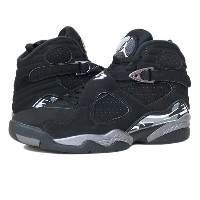 NIKE AIR JORDAN 8 RETRO 【CHROME】 ナイキ エア ジョーダン 8 レトロ BLACK/CHROME