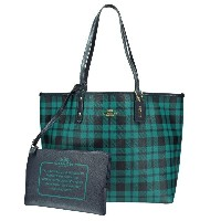 COACH OUTLET コーチ アウトレット トートバッグ F55447 IMFDK リバーシブル シティ トート 【cool10】