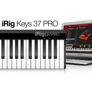 iRigKeys 37 PRO IK Multimedia 新品 37鍵標準鍵盤 MIDIキーボード[IKマルチメディア][アイリグ][iPhone/iPod Touch/iPad用][MIDI...