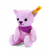 Steiff 238222 シュタイフ ぬいぐるみ テディベア 14cm Little Circus Teddy Bear Rattle for Newborn (Pale Pink)