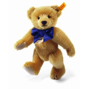 Steiff 000614 シュタイフ ぬいぐるみ テディベア 25cm Classic 1909 Jointed Teddy Bear with Squeaker (Brass)