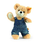 Steiff 113314 シュタイフ ぬいぐるみ テディベア Luis Teddy Bear with Jeans Flap Trousers (Blond)