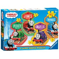きかんしゃトーマス パズル Thomas & Friends: 4 Friends 4 Shaped Puzzles