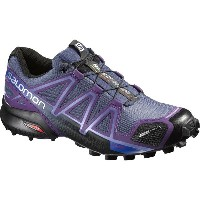 サロモン Salomon レディース ランニング シューズ・靴【Speedcross 4 CS Trail Running Shoe】Slateblue/Cosmic Purple/Black